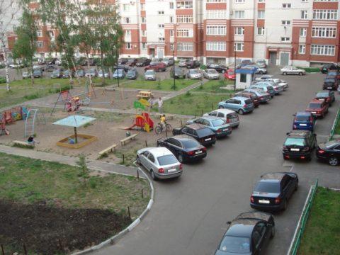 Правила парковки на придомовой территории МКД