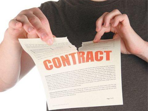 Расторжение договора купли продажи при согласовании сторон