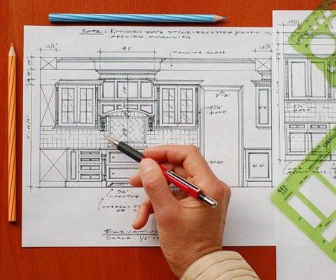 Схема жилого дома